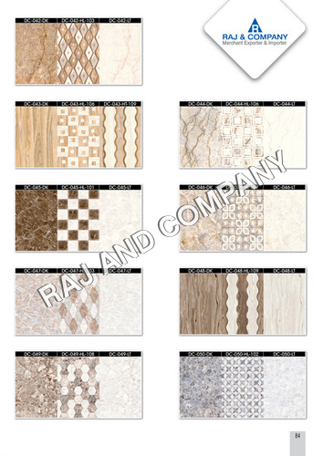 Ceramic Designer Wall Tiles