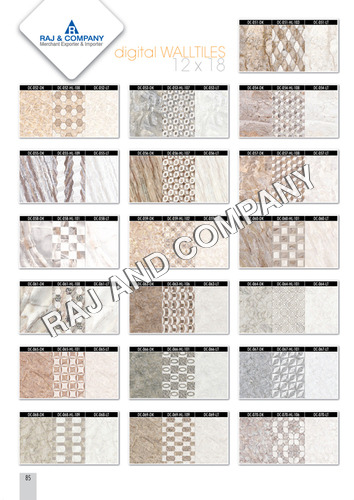 Ceramic Bathroom Wall Tiles