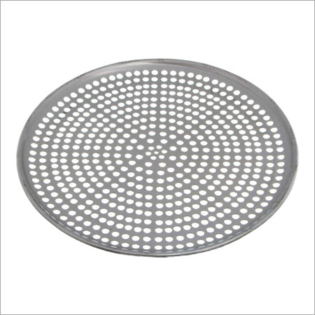 Pizza Tray Coupe Perforated Aluminium