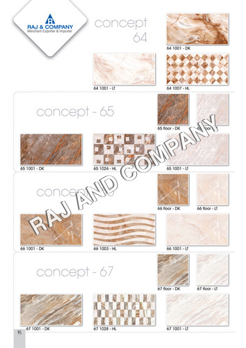 Ceramic Highlighter Wall Tiles