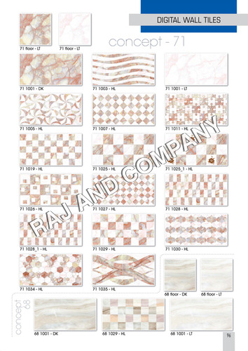Ceramic Marble Wall Tiles