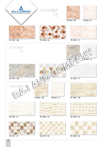 Ceramic White Wall Tiles