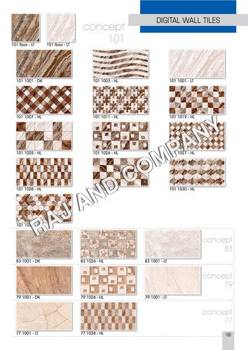 Ceramic Decorative Wall Tiles Certifications: Ce & Nsic