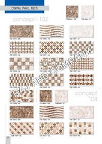 Ceramic Printed Glazed Wall Tiles