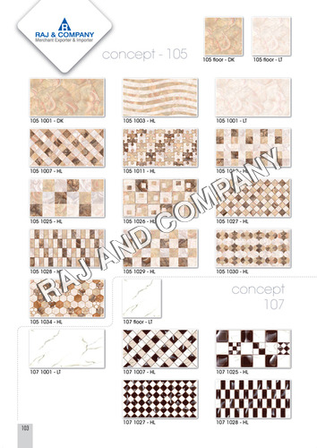 Ceramic Internal Wall Tiles