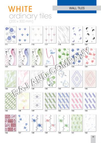 White Ordinary Tiles