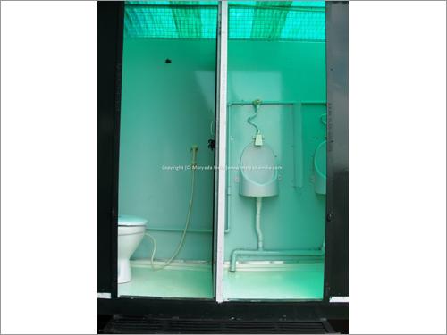 Prefabricated Mobile Toilet