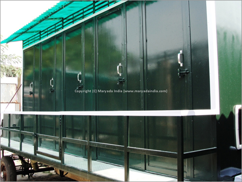 Prefabricated Mobile Toilet Van
