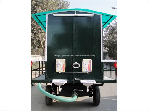 12 Seater Mobile Toilet