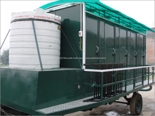 10 Seater Mobile Toilets