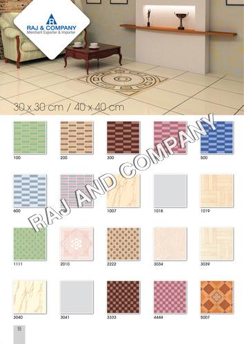 30X30 Floor Tiles Certifications: Ce & Nsic