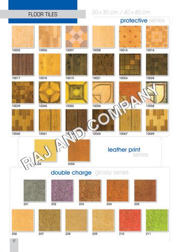 Printed Floor Tiles