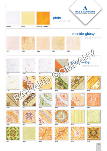 Plain Digital Floor Tiles