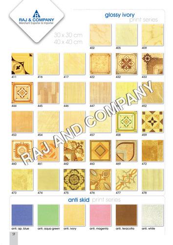 Plain Floor Tiles Certifications: Ce & Nsic