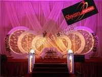 wedding event stage