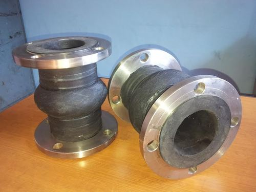 Rubber Bellow SS Flanges