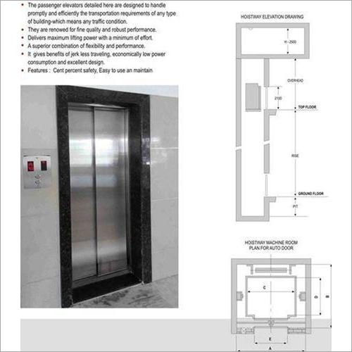 Passenger Elevator Auto Door