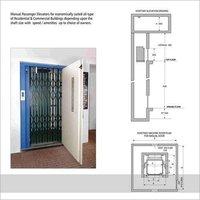 Passenger Elevator Manual Door