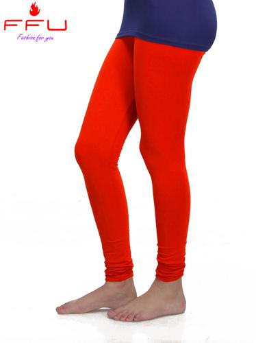Red Cotton Legging