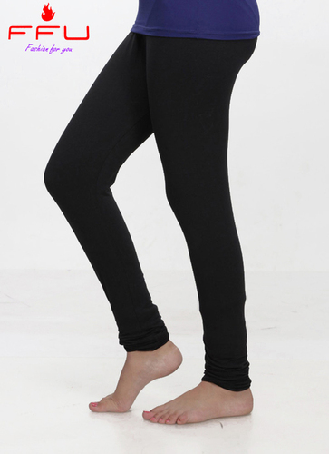 Ffu Women's Cotton Black Legging