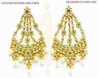 Kundan Long Earring
