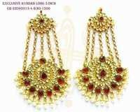 Exclusive Kundan Long Earrings