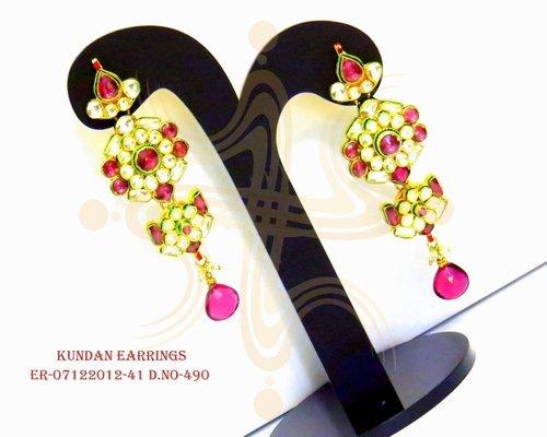 Antique Kundan Earringdesigned by