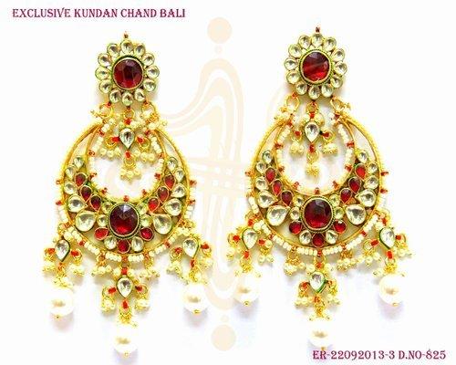 Wedding Kundan Earring