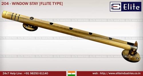 Window Stay Flute Type