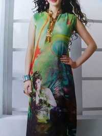 Digital printed kaftans