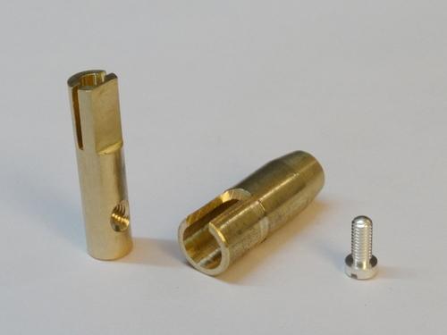 Brass Gas Cock Part