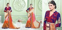 Hand Work And Net Lehenga Sarees
