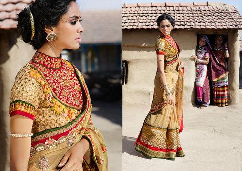 Designer Ethnic Lehenga Saree