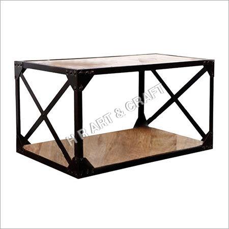 COFFEY TABLE WITH SHELFS