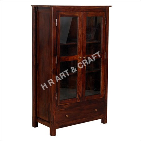 Classic Solid Wood Storage Cabinet