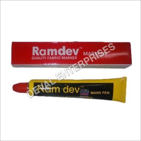 Red Textile Marker Pen