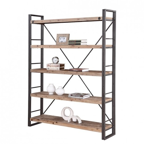 Wood Wide Bookcase