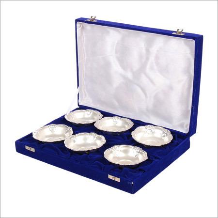 Diwali Special Silver Bowls Set