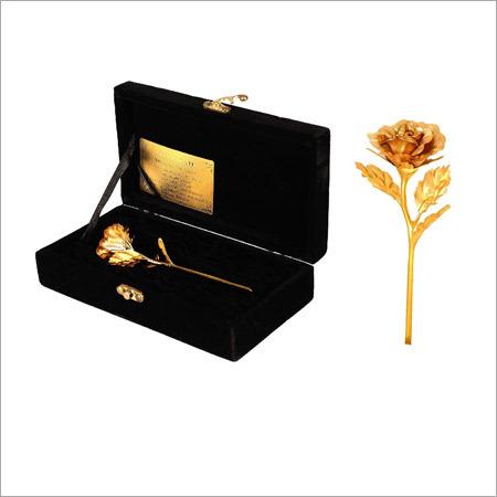 Artificial Golden Rose