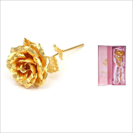 Artificial Gold Roses