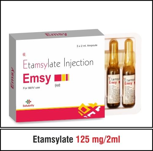 Ehamsylate 250 mg. / 2ml.