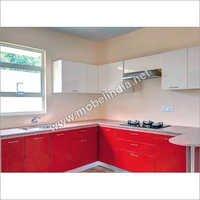 Laminated Kitchen & Cabinets