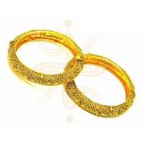 Antique Gold Plated Bangle