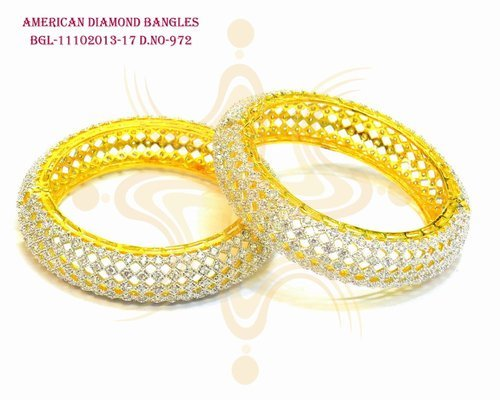 Diamond Wedding Bangles