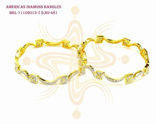 Exclusive American Diamond Bangles