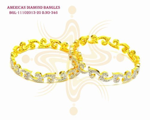 American Diamond CZ Bangle
