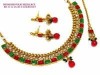 Colourful Polki Necklace