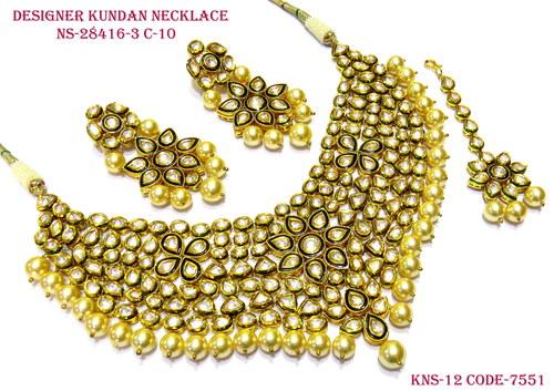 Kundan Vilandi Necklace Set