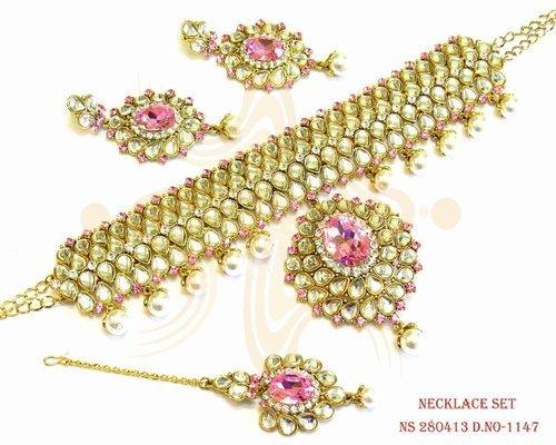Antique Diamond Necklaces Set