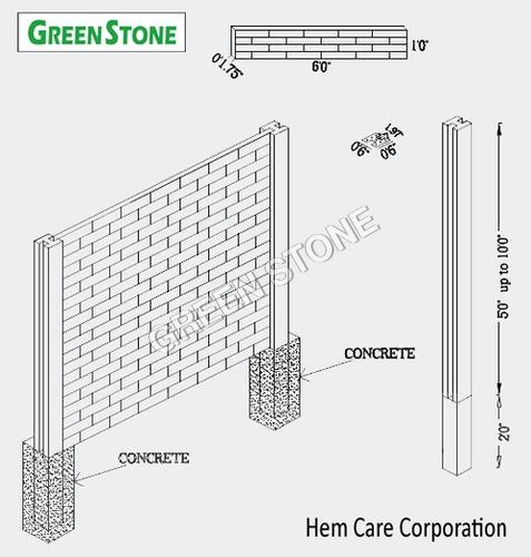 PRE-CAST COMPOUND WALL DESIGN